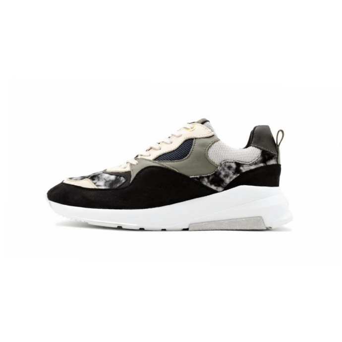 Black/White Android Homme Tie Dye Malibu Runners