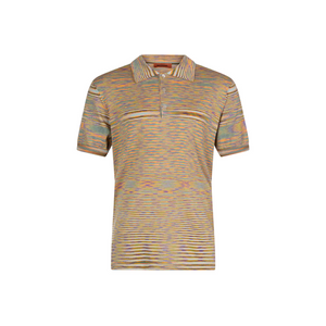 Beige Missoni Knitted Polo