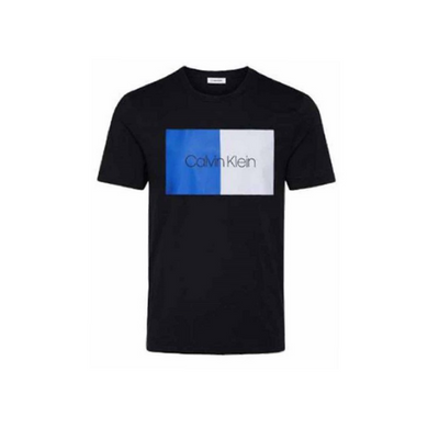 Black Calvin Klein Colour Block T-Shirt
