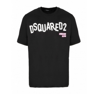 Black Dsquared2 Scattered Logo T-Shirt