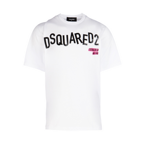 Dsquared2 Scattered Logo T-Shirt - White
