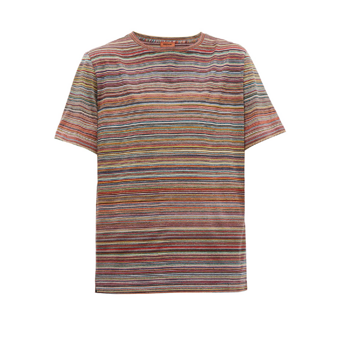 Multi Colour Missoni Stripe T-Shirt