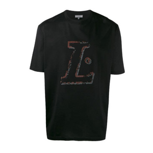 Black/Red Lanvin L Print T-Shirt