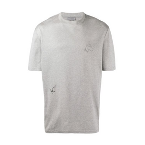 Grey Lanvin Illustration T-shirt