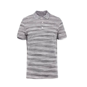 Multi Black/White Missoni Woven Stripe SS Polo