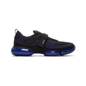 Black/Blue Mens Prada Cloudbust Trainers