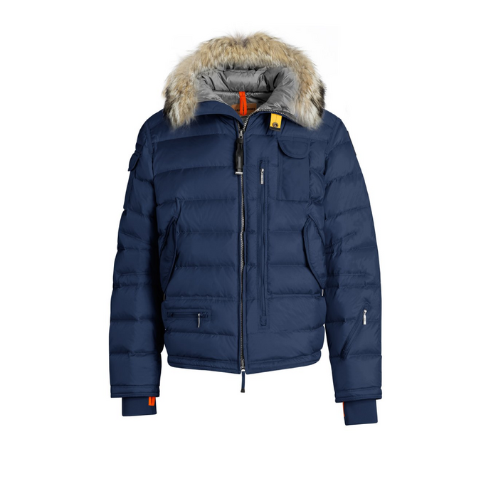 Cadet Blue Parajumpers Ski Master Bubble Coat