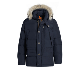 Blue Black Parajumpers Carmel Parker Coat