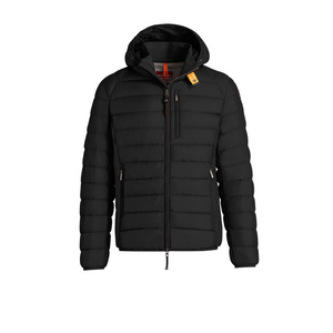 Black Parajumpers Last Minute Man Bubble Coat
