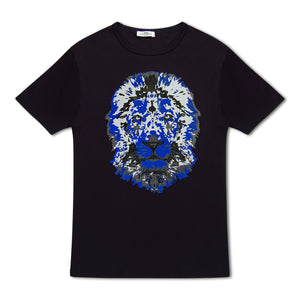 Untitled Atelier Lion T-Shirt - Multi Navy
