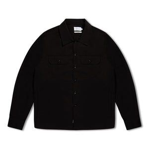 Calvin Klein Smart Twill Overshirt - Black
