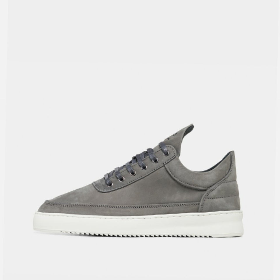 Filling Pieces Low Top Plain Trainers - Dark Grey