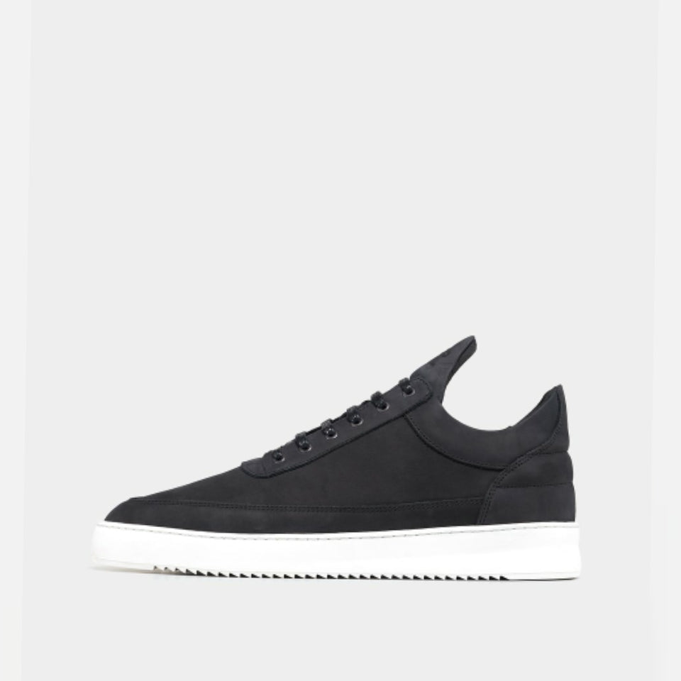 Filling Pieces Low Top Plain Trainers - Black