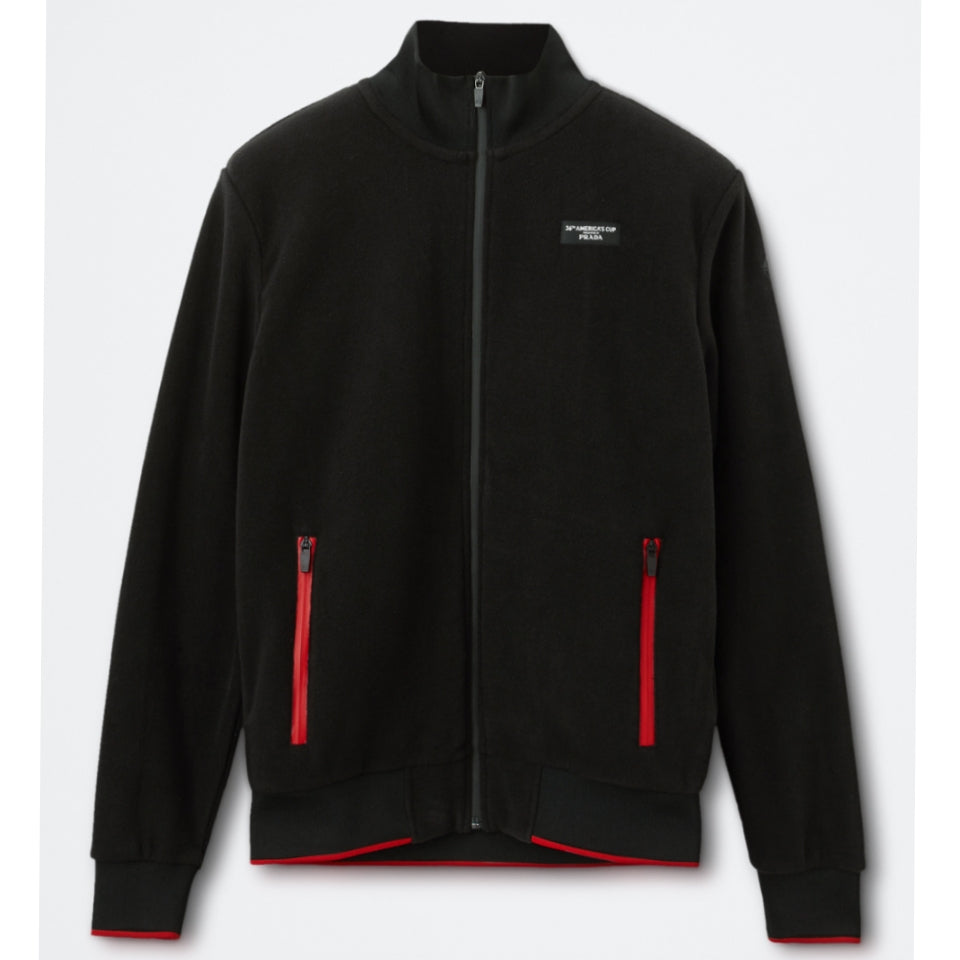 AC36 Presented By Prada Fleece Zip Jacket - Black