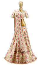 Load image into Gallery viewer, Floral Bridal Lehenga