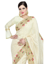 Load image into Gallery viewer, PEARL WHITE SAREE - Chahat