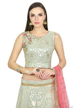 Load image into Gallery viewer, CEMENT GRAY LEHENGA - Chahat