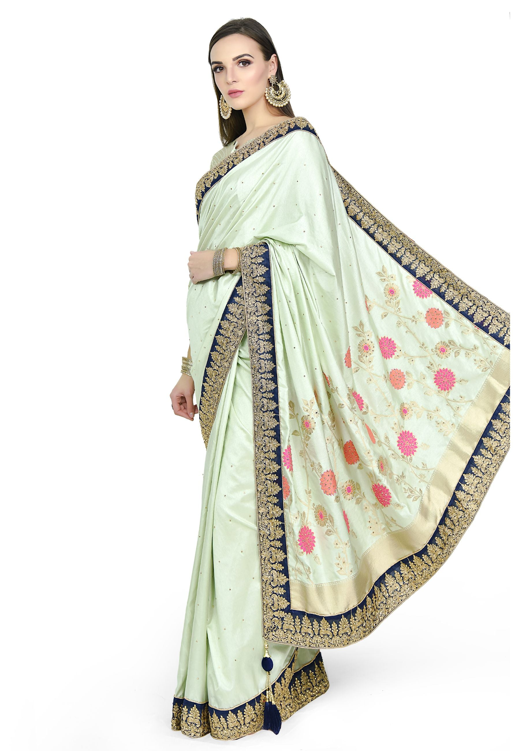 COOL MINT SAREE - Chahat