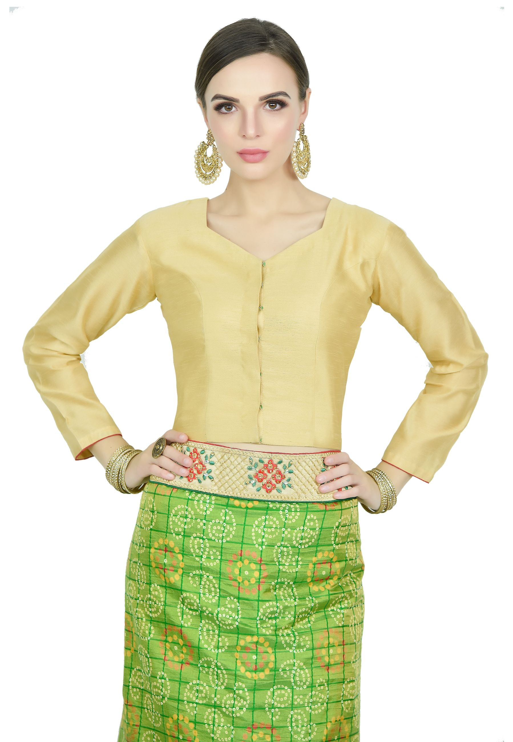 LYRIL GREEN SAREE - Chahat
