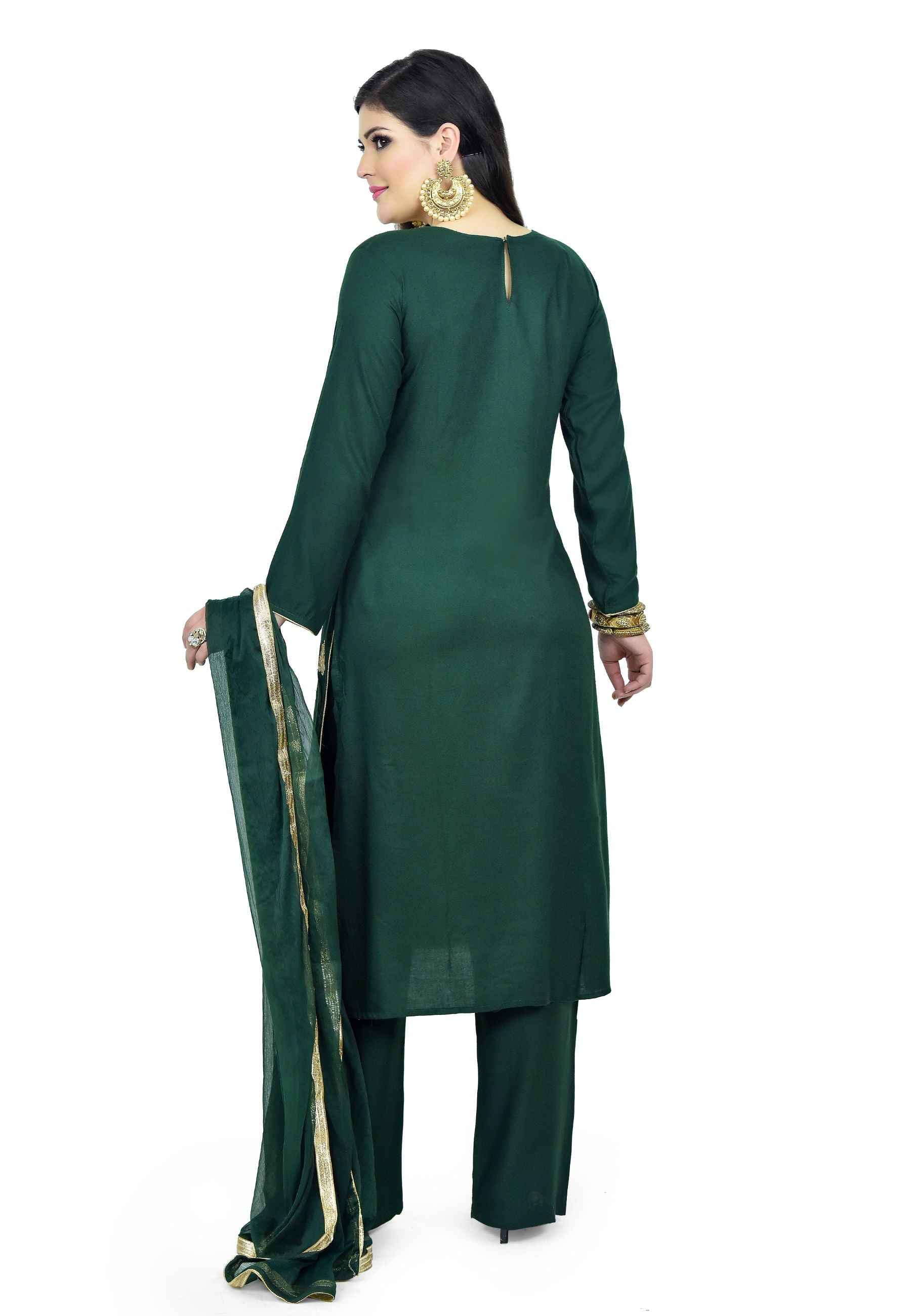 Midnight Green Suit - Chahat