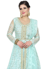 Load image into Gallery viewer, Light Teal Gown - Chahat