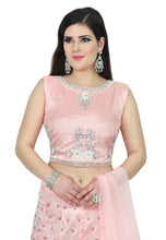 Load image into Gallery viewer, SHELL PINK LEHENGA - Chahat