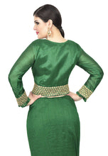 Load image into Gallery viewer, MUGHAL GREEN SAREE - Chahat