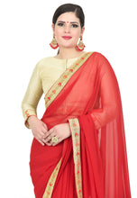 Load image into Gallery viewer, CHERRY RED SAREE - Chahat