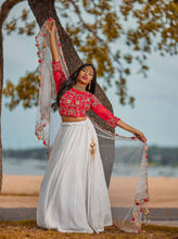 Load image into Gallery viewer, Rose Lehenga