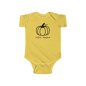 Short Sleeve Pumpkin Bodysuit