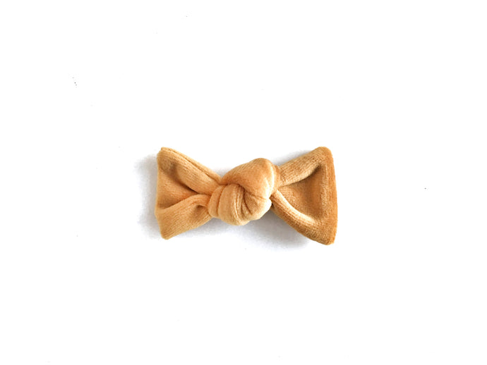 Petit Knot // Mustard Yellow - Knots and Dots