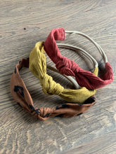 Load image into Gallery viewer, Knotted Headband // Brick Corduroy
