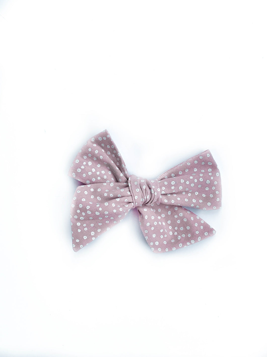 Chunky Knot // Pink Dot - Knots and Dots