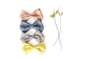 Classic Bow // Fall Yellow - Knots and Dots