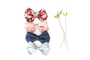 Classic Bow // Dusty Pink - Knots and Dots