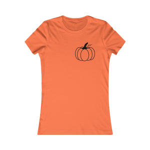 Women's Pumpkin Tee (black)