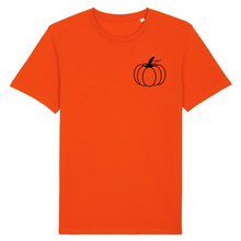 Load image into Gallery viewer, Organic Womens Pumpkin Tee