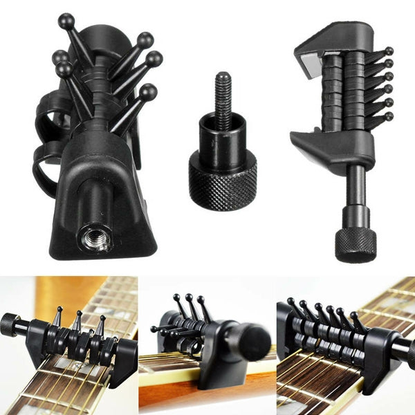 Multifunction 6 Chord Capo Portable Alternative Open Tuning