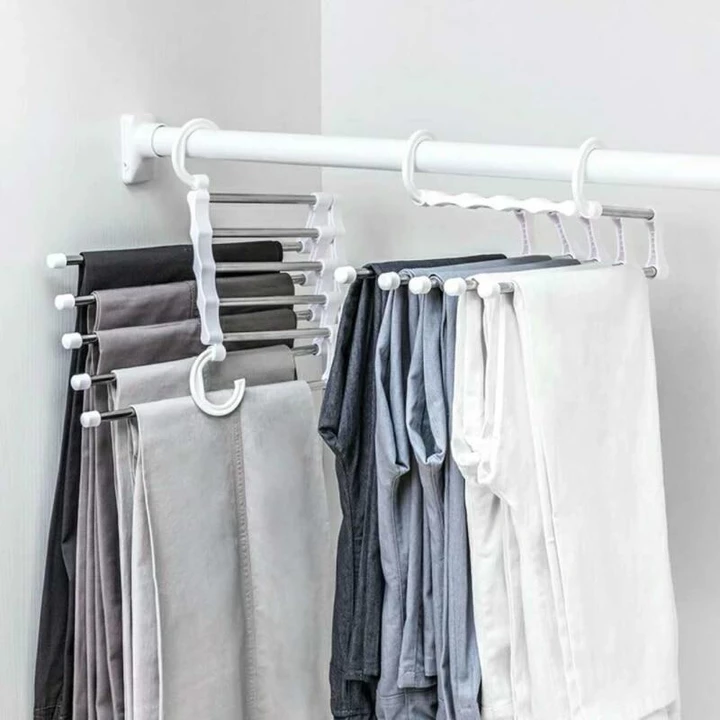 Buy 2 Get Free 1!! Buy 3 Get Free 2!! Multi-Functional Pants Rack