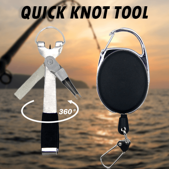 Factory Direct outdoor fishing--3 IN 1 Quick Knot Tool