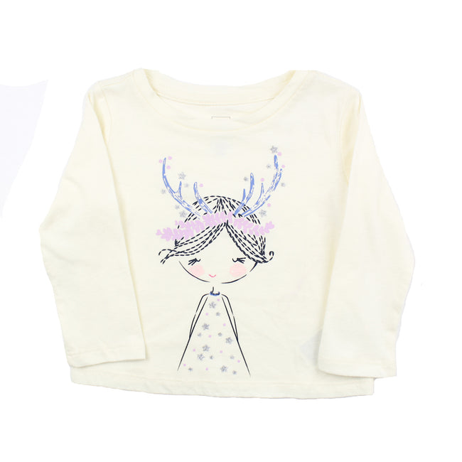Baby Girl Long Sleeve Top (12-18M)(18-24M)