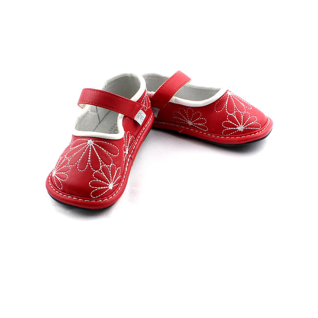 Jack & Lily Toddler Girl My Shoes Red Mary Janes