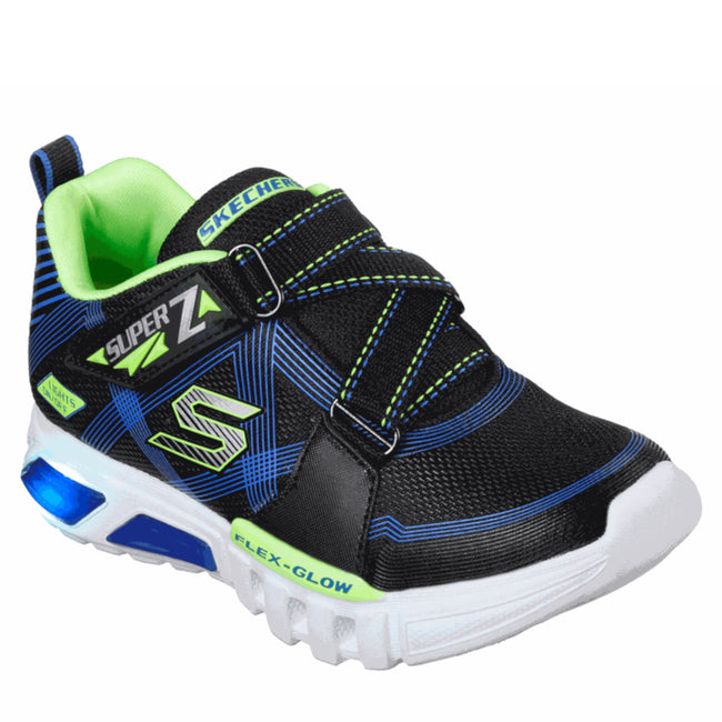 SKECHERS Boy S Lights: Flex-Glow - Parrox