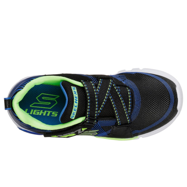 SKECHERS Boy S Lights: Flex-Glow Black