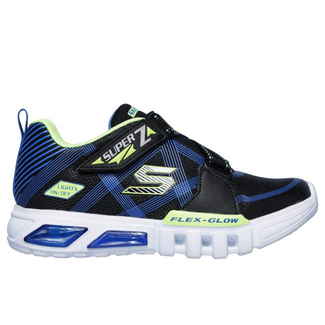 SKECHERS Boy S Lights: Flex-Glow - Parrox Shoes