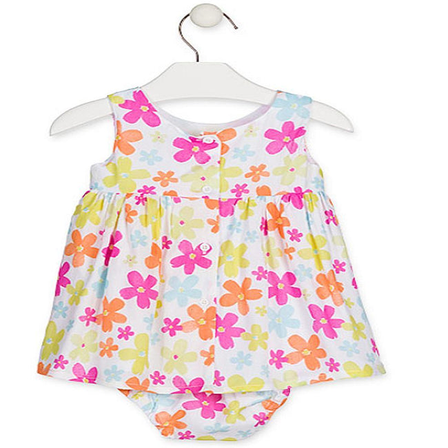 Losan Baby Girl Voile Dress and Knickers