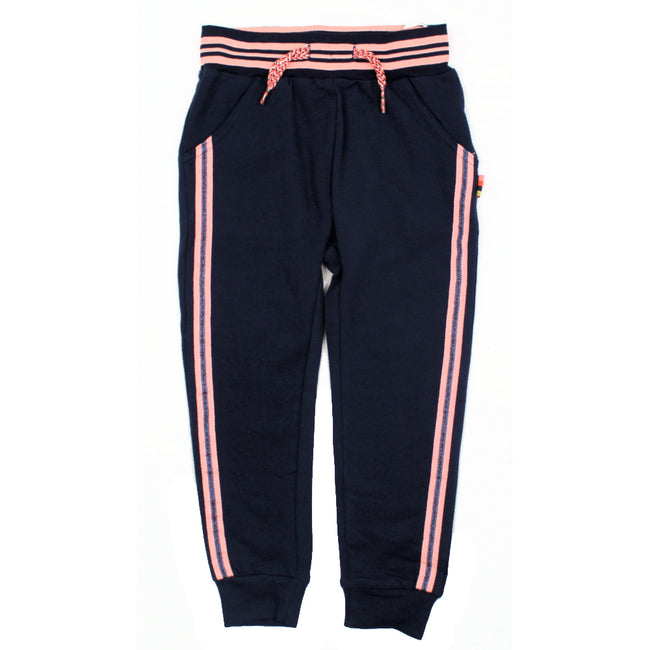 Dirkje Little Girl Navy Joggers