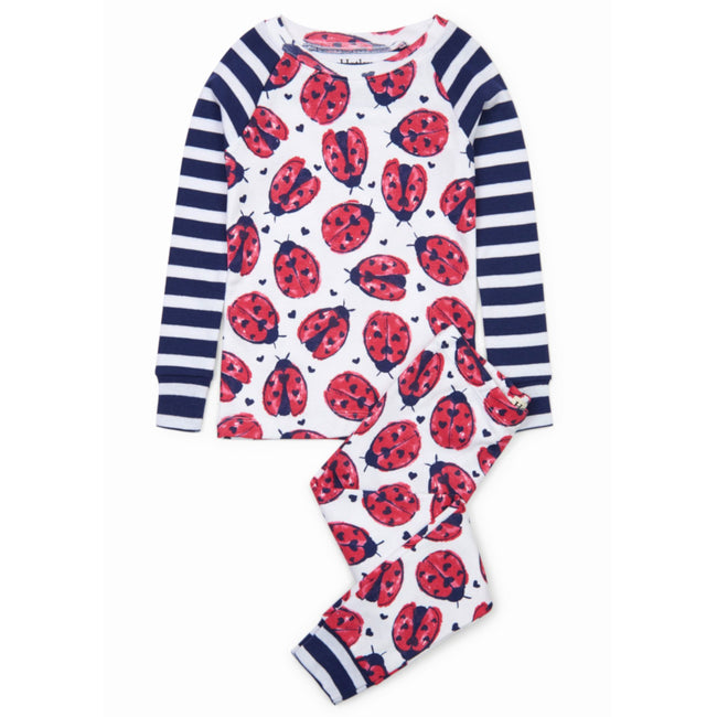 Hatley Little Girl Love Bugs Pajama Set