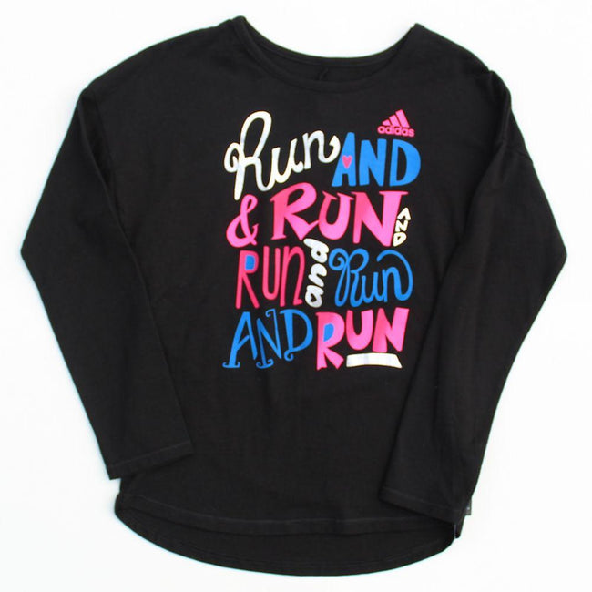Little Girl Long Sleeve Graphic Tee (Sz 6X)
