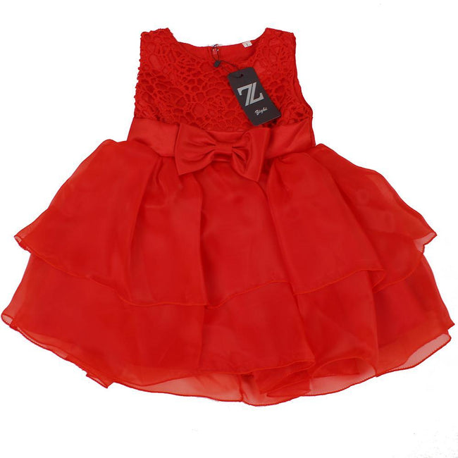 ZIGHI Baby Girl Special Occasion Red Dress